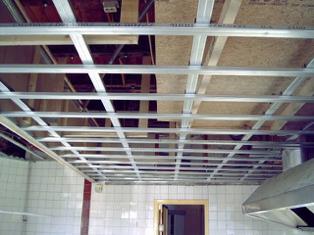 Super Metal Stud Plafond Overspanning MJ55