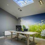 Open ceiling kantoor